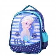 Ghiozdan pentru scoala 16'' 3 compartimente Frozen - Elsa