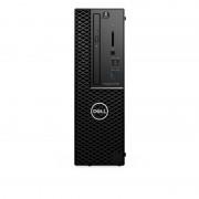 Precision 3431 Intel® Core™ i5 de 9e génération i5-9500 8 Go DDR4-SDRAM 256 Go SSD SFF Noir Station de travail Windows 10 Pro