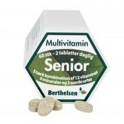 Berthelsen Tabletter till Senior 65+ 60 tabletter Multivitamin