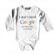 I Don't Need Google - My Dad Knows Everything Body