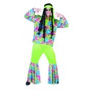 Hippie kostuum 3-delig Sunrise
