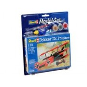 Model Set Fokker Dr.1 Triplane