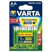 Acumulatori R6 (AA) 2600 mAh blister 4 buc/set Varta