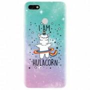 Husa silicon pentru Huawei Y6 Pro 2017 I Am Hulacorn