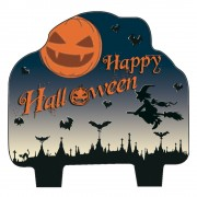 Lumanare figurina Happy Halloween - 9 cm, Radar 52642