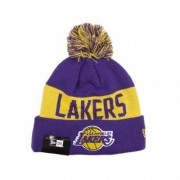 Cuffia Los Angeles Lakers con ponpon OTC TU NEW ERA