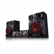 Minicomponente LG Bluetooth Karaoke Auto DJ 2200W CM8360-Negro