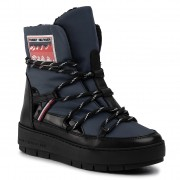 Pantofi TOMMY HILFIGER - City Voyager Snow Boot FW0FW04574 Desert Sky DW5