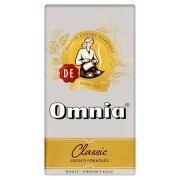 Kávé, pörkölt, őrölt, vákuumos csomagolásban, 250 g, DOUWE EGBERTS Omnia (KHK001)
