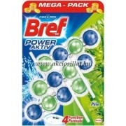 Bref Power Aktiv Pine Forest WC-frissítő 3x50g