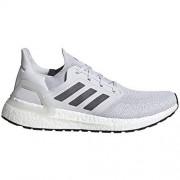 Adidas Ultraboost 20 Zapatillas para Hombre, Gris Oscuro/Gris Cinco/FTWR Blanco, 11