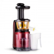 Klarstein Fruitpresso Rossa II slow juicer 150W 80 v/min metallic röd