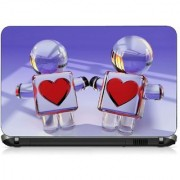 VI Collections HEART SIMBOL IN LOVE pvc Laptop Decal 15.6
