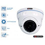 Hybridní AHD kamera 1080P varifokální s 40m IR + 3DNR