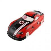 Coolplay 1/10 PVC On Road Drift Car Body Shell RC Racing Accessories Dodge Viper SRT10 ACR-X (Red)