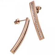 Edblad Josefin Earrings Rose Gold