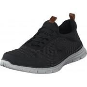 Rieker B4891-00 Black, Skor, Sneakers och Träningsskor, Löparskor, Svart, Herr, 41