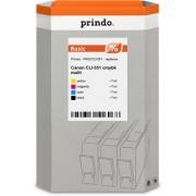 Prindo zestaw czarny / cyan / magenta / zólty oryginał PRSCCLI551
