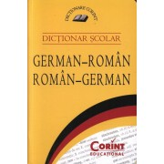 Dictionar scolar german-roman, roman-german. Editia 2015
