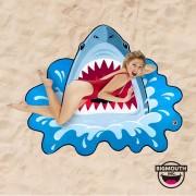 Gigantic Shark Beach Towel