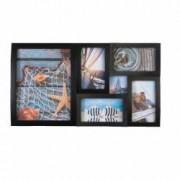 Rama foto multipla Scenery 6 poze diferite dimensiuni 50x28 cm negru