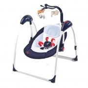 Leagan electric Caretero Loop cu telecomanda Navy