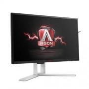 "Monitor AOC AG271QX 27""W LED 2560x1440 50 000 000:1 1ms 350cd HDMI DP DVI repro"