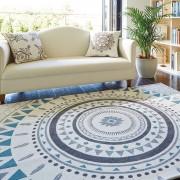 リゾートテイストシェニール織ラグ サモア カーペット・絨毯 ベルーナ