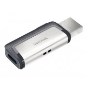 Sandisk Sdddc2-256g-g46 Ultra Dual Drive Type C 256gb Black Usb3.1 Flash