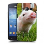 Husa Samsung Galaxy Core 4G LTE G386F Silicon Gel Tpu Model Little Pig