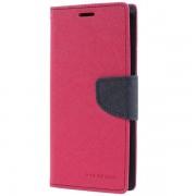 Mercury Pouzdro / kryt pro Samsung Galaxy S9 - Mercury, Fancy Diary HotPink/Navy