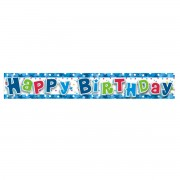 Party banner folie Happy Birthday