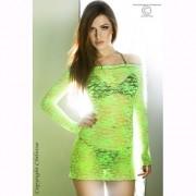 Camisa de Noite Florzinhas Verde