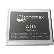100 Original Micromax Battery A116 3000mah For Micromax Canvas 3dhd4