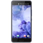 "Telefon Mobil HTC U Ultra, Procesor Quad Core 2.15/1.6 GHz, Super LCD 5, Capacitive touchscreen 5.7"", 4GB RAM, 64GB Flash, 12MP, 4G, Wi-Fi, Android (Albastru) + Cartela SIM Orange PrePay, 6 euro credit, 4 GB internet 4G, 2,000 minute nationale si internat"