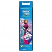 Rezerva 2 capete periuta electrica Oral B D12 Frozen 3+ ani