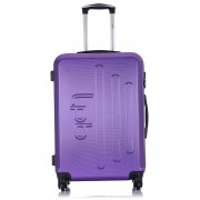 1 Valise Cabine 4 roues Angel 50cm violette