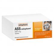 ratiopharm GmbH ASS ratiopharm 500 mg Tabletten 100 St