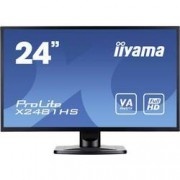 Iiyama LED monitor Iiyama ProLite X2481HS-B1, 59.9 cm (23.6 palec),1920 x 1080 px 6 ms, VA LED VGA, DVI, HDMI™