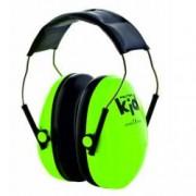 Antifoane externe pentru copii Peltor Kid verde neon