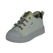 Shoesme Gymp - wit leopardo - Size: 29