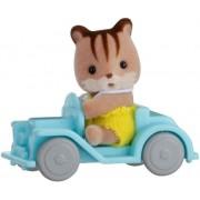 """Набор """"Младенец в пластиковом сундучке """" (бельчонок на машине)"""