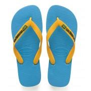 Havaianas Slippers Kids Flipflops Brasil Logo Groen