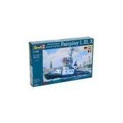 Kit De Montar Revell 1:144 Harbour Tug Boat Fairplay I, Iii, X