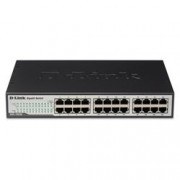 D-LINK SWITCH 24 PTE GIGABIT 10/100/1000