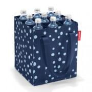 reisenthel Flaschentasche bottle bag spots navy
