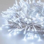 Luci Da Esterno Catena 25 m, 500 LED colore Bianco freddo, cavo Trasparente, da interno ed esterno, non prolungabile