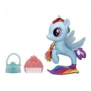 My Little Pony glitter Rainbow Dash Seapony figur