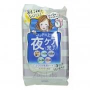 SANA «Zubolabo Night Toning Emulsion Sheet» Влажные салфетки для вечернего ухода за лицом, 35 шт.