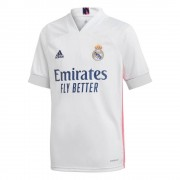 adidas Real Madrid Thuisshirt 2020-2021 Kids - Wit - Size: 140